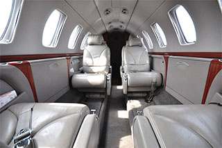 Cessna Citation CJ3 seating